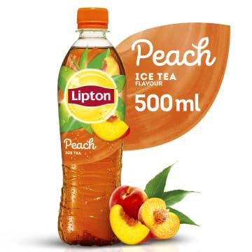 Lipton Ice Tea Napój niegazowany Peach - herbata o smaku brzoskwiniowym, która ugasi pragnienie.