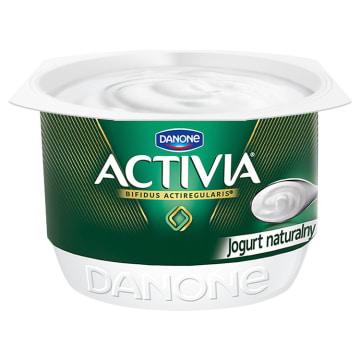 Danone Jogurt naturalny Activia zawiera korzystne bakterie ActiRegularis.
