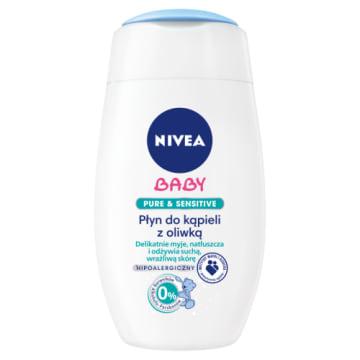 NIVEA Baby Pure&Sensitive Płyn do kąpieli z oliwką hipoalergiczny 200g