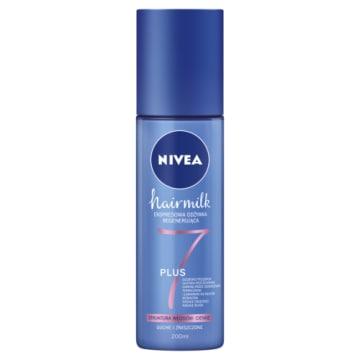 NIVEA Hairmilk Ekspresowa odżywka regenerująca do włosów o cienkiej strukturze 200ml