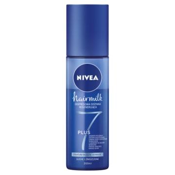 NIVEA Hairmilk Ekspresowa odżywka regenerująca do włosów o normalnej strukturze 200ml