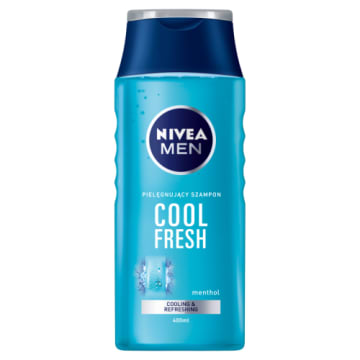 NIVEA MEN Odświeżający szampon do włosów Cool 400ml