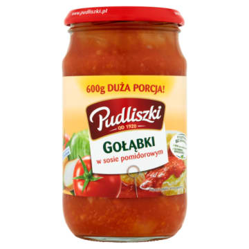 PUDLISZKI Gołąbki w sosie pomidorowym 600g