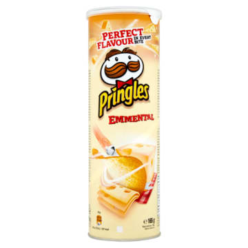 PRINGLES Chipsy Emmental 165g