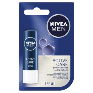 NIVEA MEN Pomadka do ust Active Care (4,8g) 1 szt