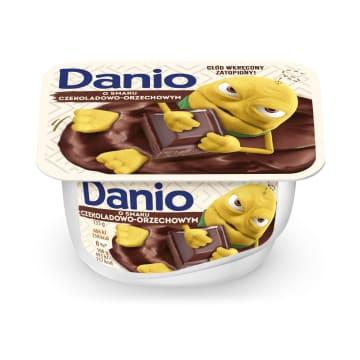 DANONE DANIO Serek czekoladowo-orzechowy 135g