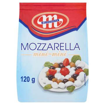 MLEKOVITA Ser mozzarella mini-mini 120g