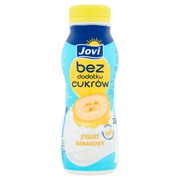 JOVI Jogurt bananowy bez dodatku cukrów 230g