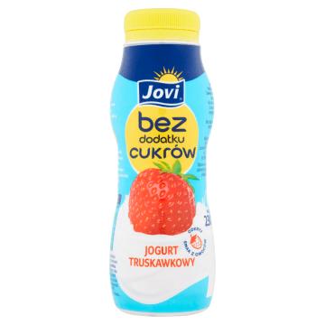 JOVI Jogurt truskawkowy bez dodatku cukrów 230g