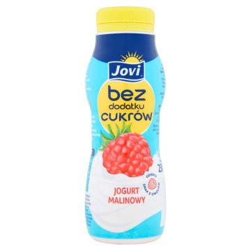JOVI Jogurt malinowy bez dodatku cukrów 230g