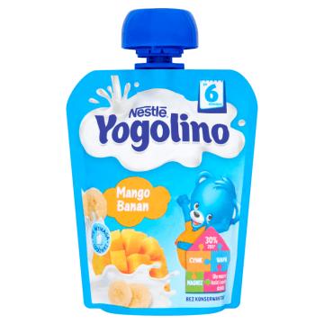 NESTLÉ Yogolino Deserek owocowo-mleczny mango banan po 6 miesiącu 90g