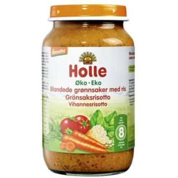 HOLLE Obiadek risotto z warzywami - po 8 miesiącu BIO 220g