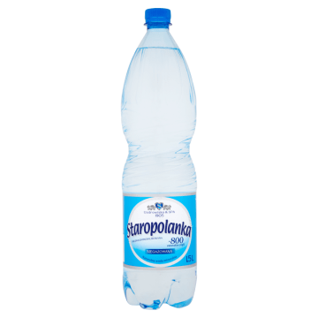 STAROPOLANKA Woda mineralna średniozmineralizowana niegazowana 1.5l