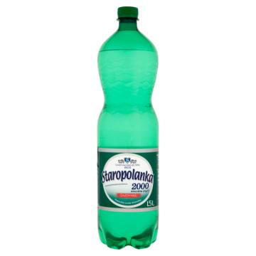 STAROPOLANKA 2000 Woda mineralna wysokozmineralizowana gazowana 1.5l