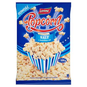 LORENZ Popcorn z dodatkiem soli 100g