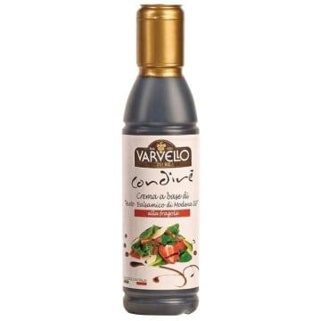 VARVELLO Krem z octu balsamicznego truskawkowy 150ml