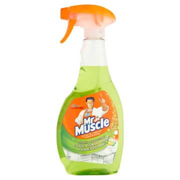 MR MUSCLE Płyn do szyb i innych powierzchni limonka 500ml