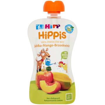 HIPP HiPPiS Jabłka-Mango-Brzoskwinie Mus owocowy po 6. miesiącu BIO (tubka) 100g