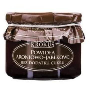 KROKUS Powidła aroniowo - jabłkowe bez cukru 310g