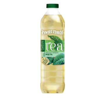 ŻYWIEC ZDRÓJ Green Tea Herbata zielona z miętą 1.5l