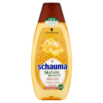 SCHAUMA Nature Moments Szampon wzmacniający ekstrakt z miodu i olej z opuncji figowej 400ml