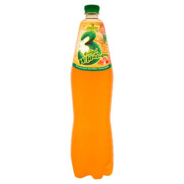 ZBYSZKO 3 Cocktail witaminowy Napój owocowy gazowany 1.5l