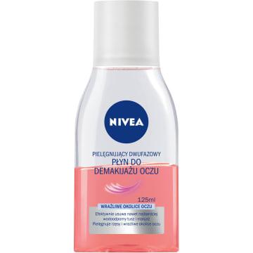 NIVEA Pielęgnujący dwufazowy płyn do demakijażu oczu 125ml