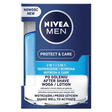 NIVEA Protect&Care Woda po goleniu 2w1 100g