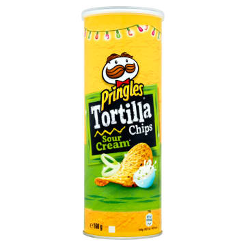 PRINGLES Chipsy Tortilla Sour Cream & Onion 160 g
