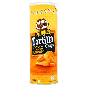 PRINGLES Chipsy Tortilla Nacho Cheese 160g