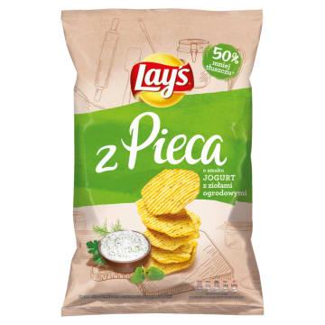 LAYS z Pieca Chipsy Jogurt z ziołami ogrodowymi 130g