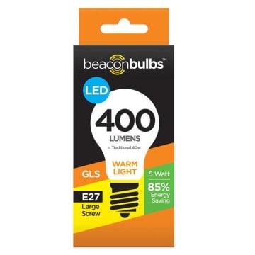 BEACON BULBS Żarówka LED 5W E27 1szt