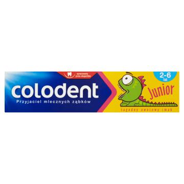 COLODENT Junior Super Pasta do zębów dla dzieci 2-6 lat 56g