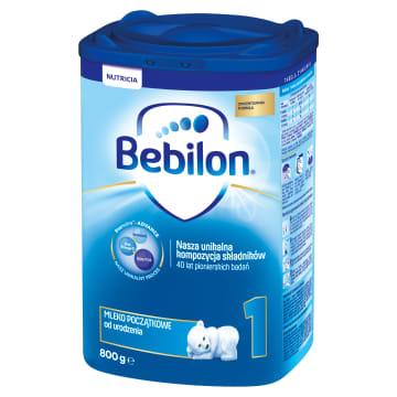 Mleko początkowe z Pronutra – Bebilon 1 to mieszanka, która może być podawana od urodzenia.