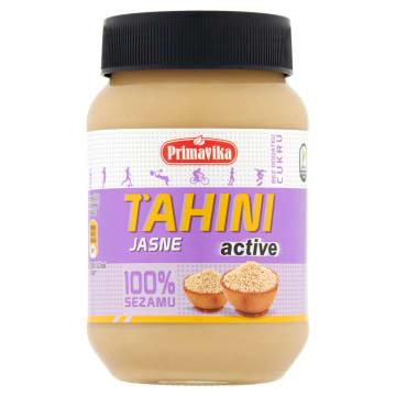 PRIMAVIKA Pasta tahini jasna active 100% sezamu 460g