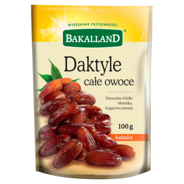 Daktyle suszone drylowane - Bakalland