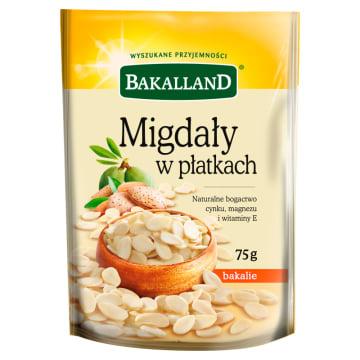 Migdały w płatkach 75g - Bakalland