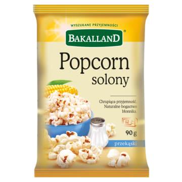 Popcorn solony - Bakalland