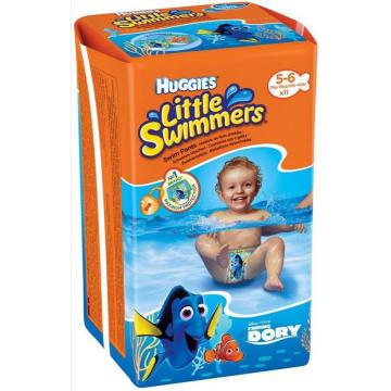 HUGGIES Little Swimmers 5-6 Majteczki do pływania 12-18kg, 11 szt. 1szt