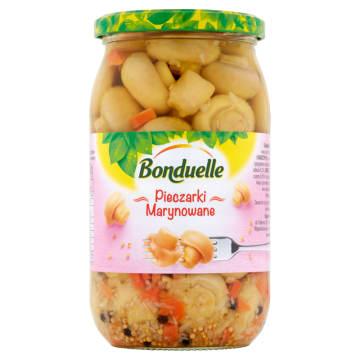 Bonduelle-Tradycyjne pieczarki marynowane 800 ml. Wzbogacają smak i aromat potraw.