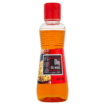 HOUSE OF ASIA Olej do woka z ryżu i chili 200 ml