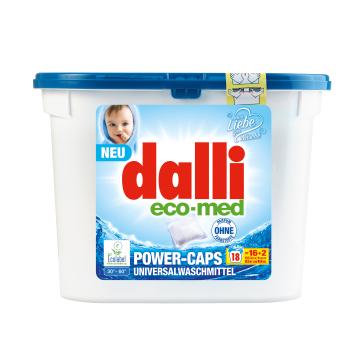 DALLI Eco- Med Kapsułki do prania 18 szt. 1szt