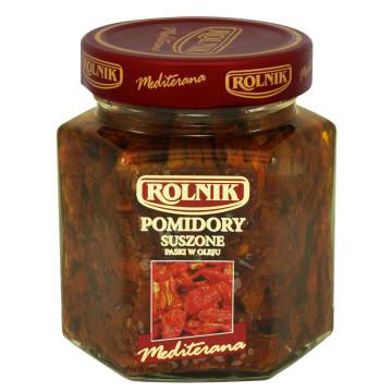 ROLNIK Premium Pomidory suszone paski w oleju 280g