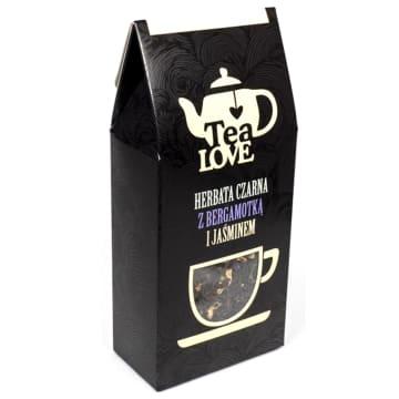 TEA LOVE Herbata czarna z bergamotką i jaśminem 70g