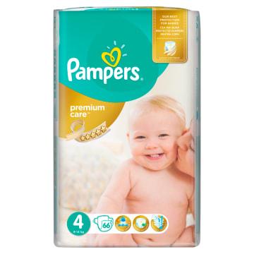 Jednorazowe pieluchy rozmiar 4 – Pampers gwarantują ochronę i pielęgnację skóry dziecka.