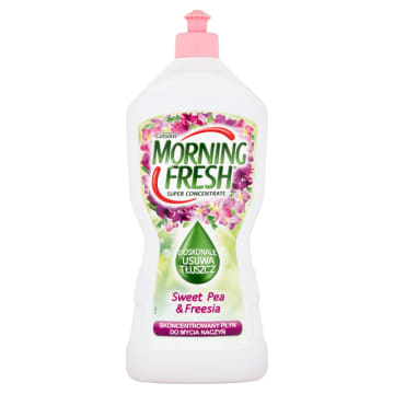 MORNING FRESH SUPER CONCENTRATE Płyn do mycia naczyń Sweet Pea&Freesia 900 ml
