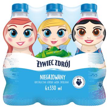 Naturalna woda źródlana niegazowana - Żywiec Zdrój Frozen