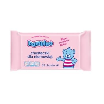 BAMBINO Chusteczki dla niemowląt czteropak 1szt