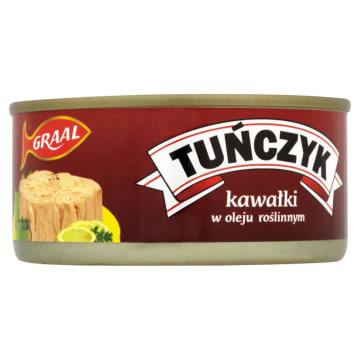 GRAAL Tuńczyk kawałki w oleju roślinnym 170g