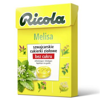 RICOLA Cukierki ziołowe - Melisa 40g